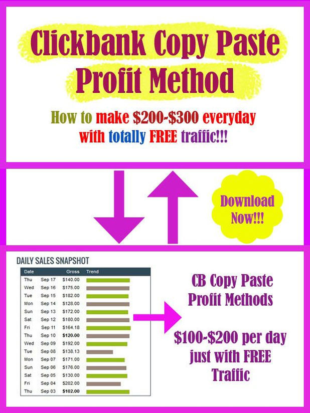clickbank-copy-paste-method
