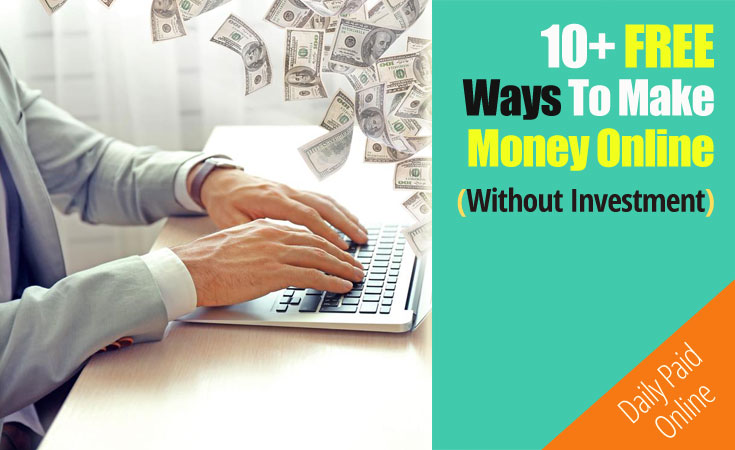10 FREE Ways to Make Money Online
