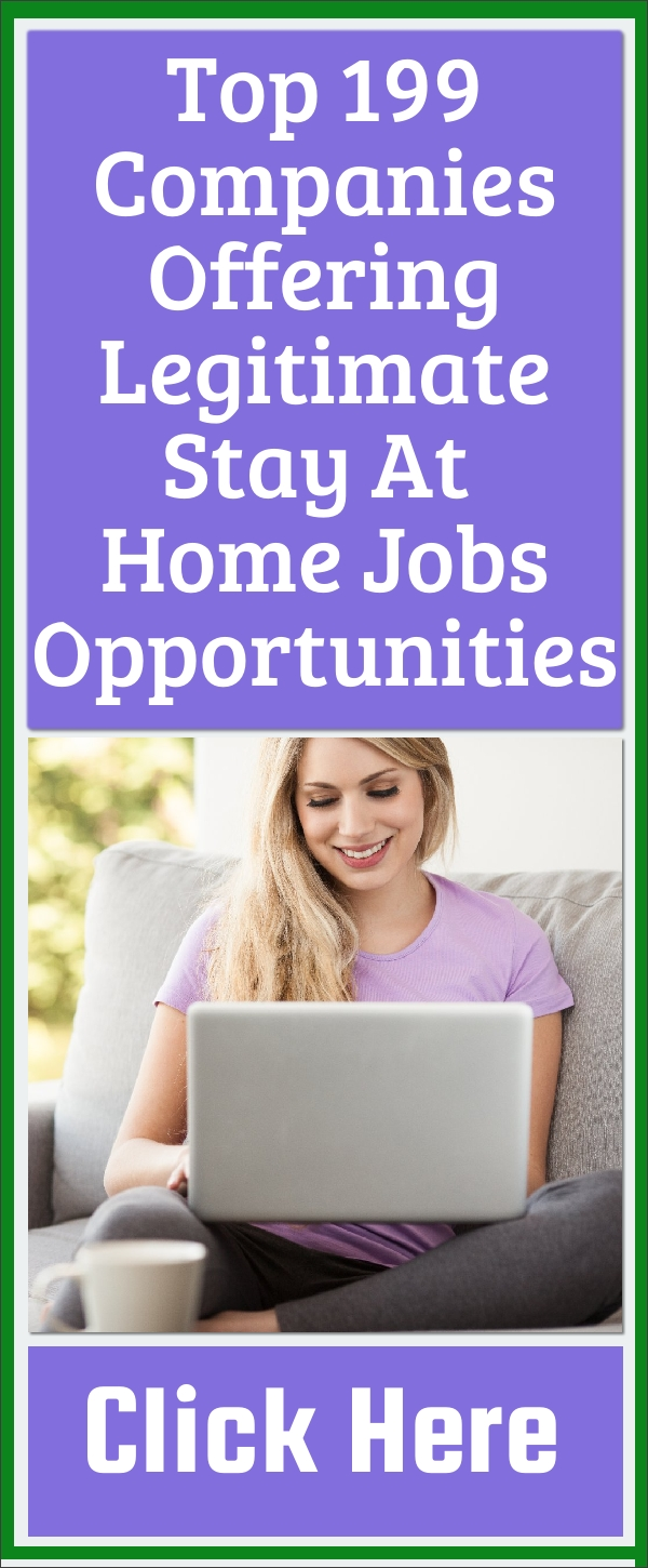 best stay at home jobs