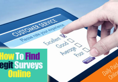 How To Find Legitimate Online Surveys