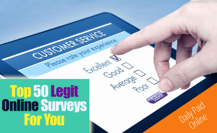 Legitimate Online Surveys