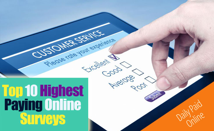 Top 10 Highest Paying Online Surveys