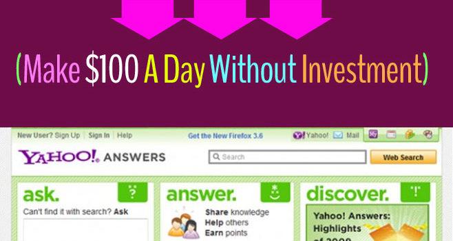 How to make money with clickbank and yahoo answers