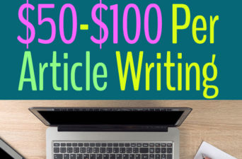 25 High Paying Websites That Pay $50 Per Article Writing