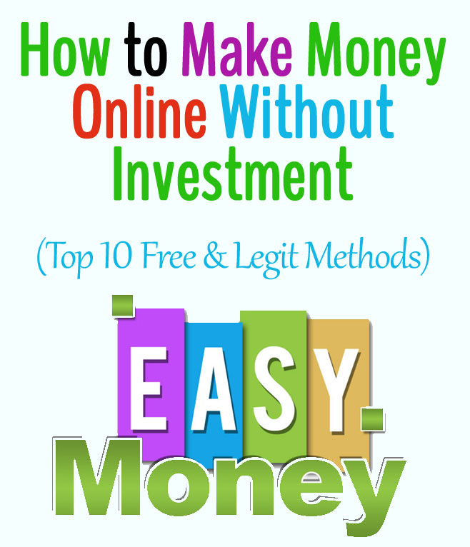How to make money online without investment