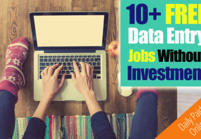 Online Data Entry Jobs Without Investments