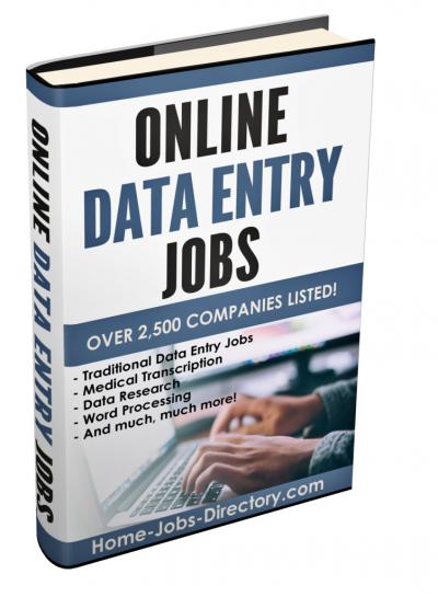 Get Over 2,500 Online Data Entry Jobs!