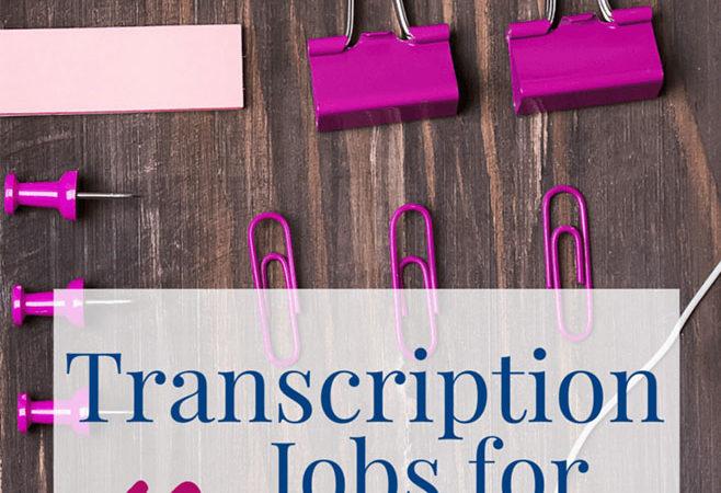 Free Legit Online TypingTranscription Jobs For Beginners
