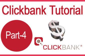 Clickbank Tutorial Part 4