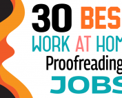 Work From Home Proofreading Jobs