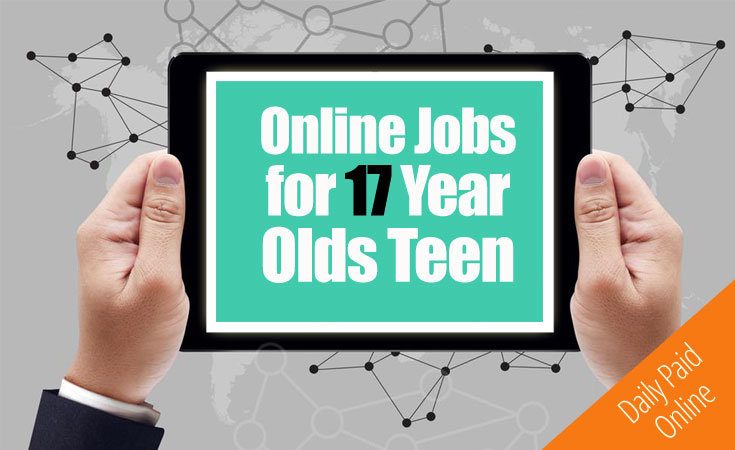 online jobs for 17 year olds