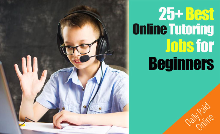 Best Online Tutoring Jobs for Beginners