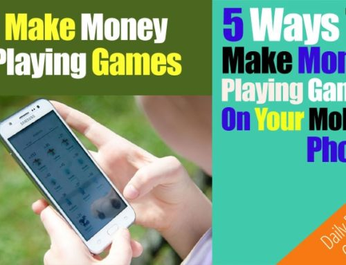 5 Ways To Make Money Playing Games On Your SmartPhone