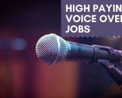 Best Voice Over Jobs