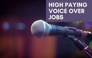 Best Voice Over Jobs