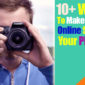 Make money online selling your photos